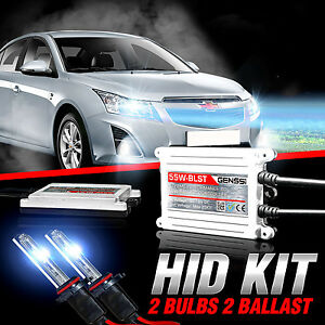 Genssi Hid Xenon Conversion Kit Bulbs For Chevy Cruze 2011 2015 W relay Harness