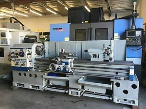 Tuda Tudor Max 19 28 X 80 cc Gap Bed Engine Lathe 3 1 4 Spindle Bore 15 Hp