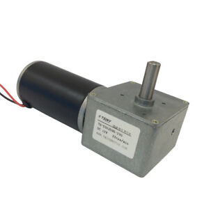 12v Dc Worm Gear Motor Variable Speed Robot Gearmotor Low Speed 22rpm With Diy