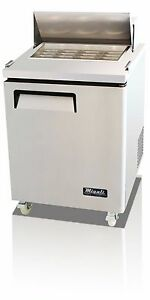 Migali C sp27 12bt Mega Top Single Door Sandwich Salad Prep Table