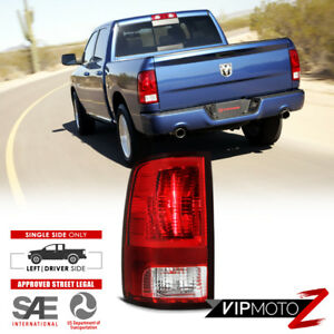 Left Driver Side 2009 2018 Dodge Ram 1500 2500 3500 Red Rear Tail Light Lamp
