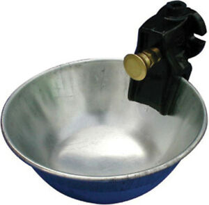 Metal Push Button Water Bowl For Cattle No M81 By Smb Mfg