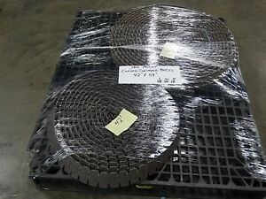 Habasit C0890k0325 Table Top Curved Conveyor Chain 59 x3 42x3