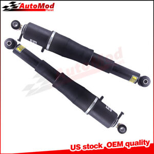 2002 2014 For Escalade Rear Oem Quality Electronic Air Ride Shocks Pair New