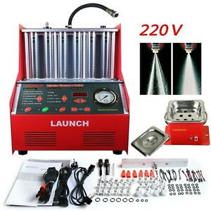 Launch Cnc602a Ultrasonic Fuel Injector Tester Cleaner For Petrol Car Motor
