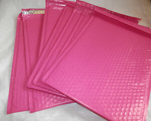 30 Hot Pink 10 5 X 15 25 Poly Bubble Mailers Shipping Padded Envelopes Self 5
