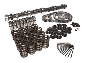 Chevy 327 350 Ultimate Cam Kit 234 244 050 Springs Lifters Machine Push Rods
