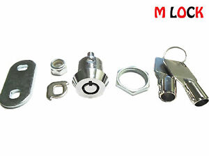 Lof Of 100 5 8 Tubular Cam Lock 1 Key Pull 90 Degree Turn 2400bs Toolbox Lock