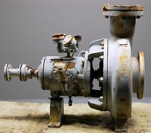 Durco Chemical Duty Centrifugal Pump Gp Iii 8 X 6 X 16 124 Rv 1200 Gpm 25 33ft