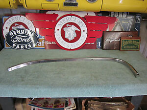 1962 Ford Mercury Nos Right Rear Wheel Lip Stainless