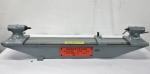 Brown Sharpe 9 X 35 Capacity Bench Center Inspection Tool