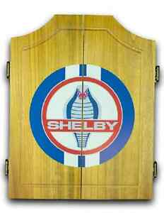 Shelby Cobra Dart Cabinet With Darts And Board