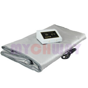 Far Infrared Body Slimming Sauna Blanket Detox Therapy Beauty Care Spa Equipment