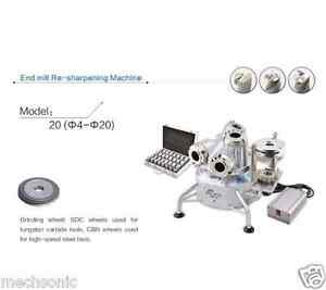 New End Mill Re sharpening Machine 20 Us1