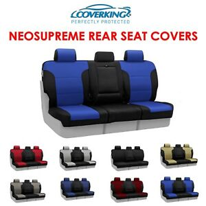Coverking Neosupreme Rear Custom Fit Seat Covers For Nissan Titan