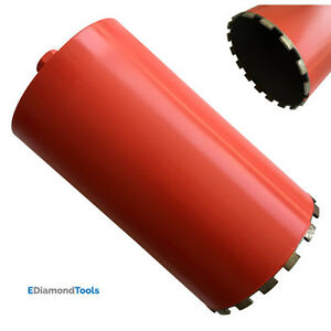 14 Wet Diamond Core Drill Bit For Concrete Granite Block Coring 18 Drill Depth