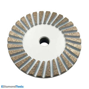 4 Diamond Grinding Wheels For Granite Concrete Marble 80 100 Fine Grit