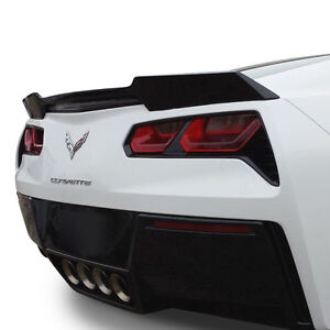 Fits 2014 2019 Corvette C7 Painted wicker bill Style Rear Spoiler Made In Usa