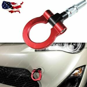 Anodized Red Track Racing Style Aluminum Tow Hook For Bmw 128i 328i 528i X5 X6