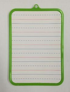 Dry Erase Learning Board Double Sided With Marker Eraser Color May Very