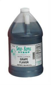 Sno kone Syrup no 1224 Gold Medal Products Co pk4
