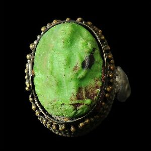 Aphrodite Ancient Islamic Silver Ring