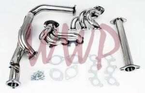 Stainless Steel Exhaust Headers Manifold System For 96 01 Camry solara 3 0l V6
