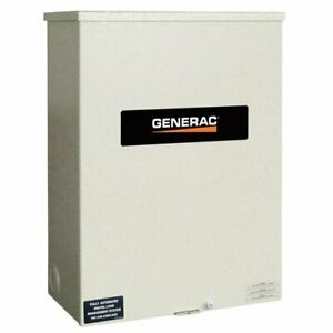 Generac Rtsn100k3 Guardian 100 amp 3 phase Automatic Transfer Switch 277 480v