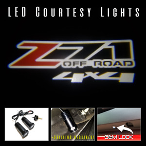 Lumenz Cl3 Led Courtesy Logo Lights Ghost Shadow For Z71 Off Road 4x4 100929