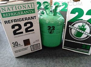 R 22 Refrigerant 30lbs New In Box Sealed R22 30 Lb Immediate Shipping