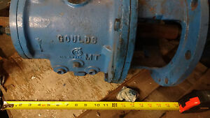 Goulds Power Frame Pump 3196m With 8 Adapter