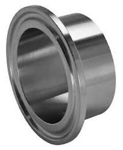Sanitary Weld On Ferrule 12 Tri Clamp tri Clover Fitting Stainless Steel 304
