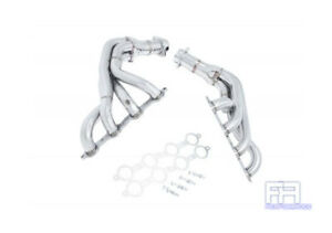 Manzo 2pc 8 4 2 Stainless Steel Exhaust Header Corvette C5 Ls1 Ls6 V8 5 7l 97 04