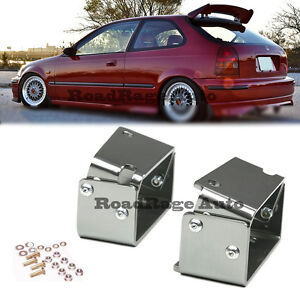 96 00 Civic Ek4 Ek9 Cx Dx Si Hatch Tr Style Roof Spoiler Wing Adjustable Bracket