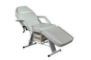 Portable Dental Chair Stool Package white