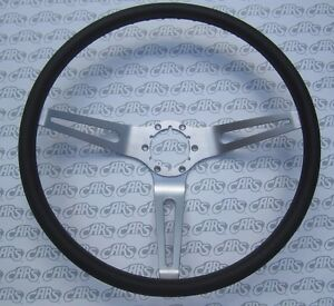 1969 1975 Gm Buick Olds Chevelle Gto Corvette Black 3 Spoke Sport Steering Wheel