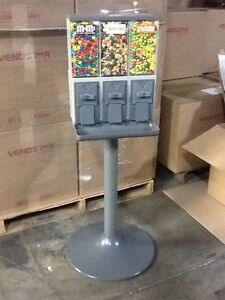 6 New Vendstar 3000 Vend3 Candy Vending Machines W locks keys Best Deal On Ebay