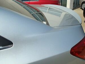 Unpainted Primer For Chevy Cruze 2011 2015 No Drill Large Lip Spoiler New