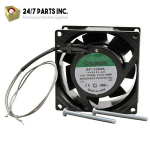 Cooling Fan115v 3000 Rpm For Hatco Part 02 12 008a 00 Same Day Shipping