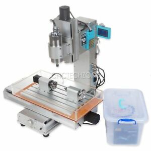 1500w 4 Axis 3040 Cnc Router Engraving Machine Table 110v 220v Lcd W 1 5kw Vfd