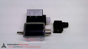 Kuhse Gy 040 1 20 Solenoid Actuator 24vdc 0 9a 20mm Stroke New 218832