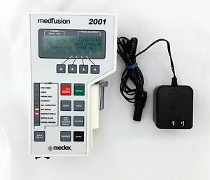 Medfusion 2001 Syringe Pump Patient Ready W Ac Adapter 90 Day Warranty