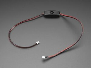 Jst 2 pin Extension Power Cable With On off Switch Ph2 Lipo Batteries More