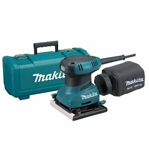 Makita BO4556K 4-12-Inch 2.0 Amp 14000 Opm Finishing Sander with Case