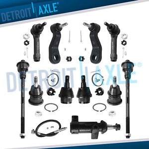 11pc 4 Groove Front Suspension Kit For Chevrolet Tahoe Gmc Sierra 4wd