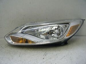 Driver Left Halogen Oem Ford Focus 2012 2013 2014 Headlight Assembly A Grade