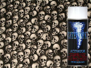 Hydrographics Film Activator Hydrodipping Water Transfer Hydro Real Skulls