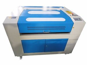 100w Hq9060 Co2 Laser Engraving Cutting Machine laser Engraver Cutter 900 600mm