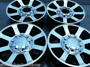 Fits Ford F250 F350 20 Hd Wheels 2007 10 Factory Style Sd Rims 3693 Mach Black