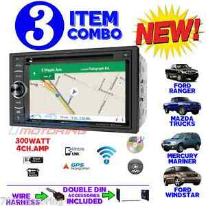 1995 2007 Ford Mercury Bluetooth Cd Navigation Radio Stereo Install Double Din